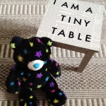 I am a tiny table !
